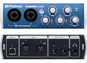PreSonus Audiobox 22VSL 2 Channel External Sound Card