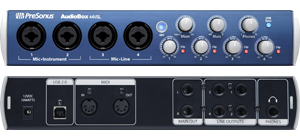 PreSonus Audiobox 44VSL 4 Channel External USB Sound Card