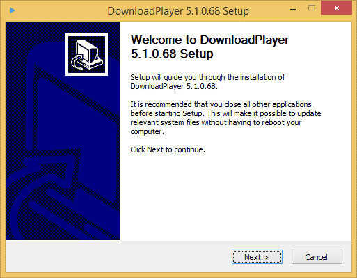 How To Install The Download Player for Windows - Step 1
