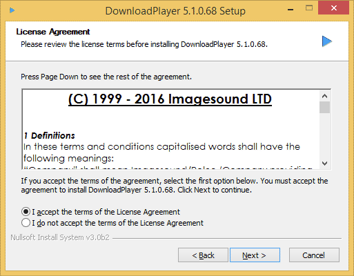 How To Install The Download Player for Windows - Step 2