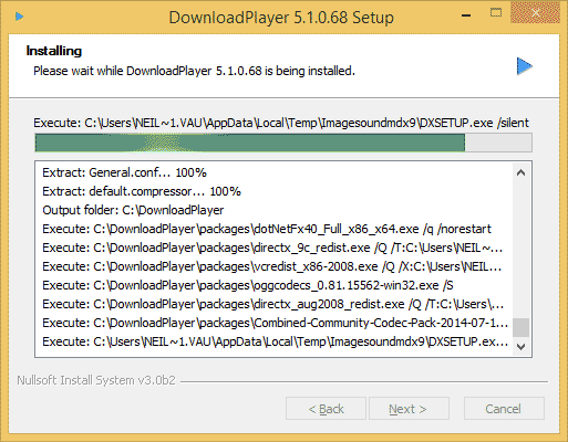 How To Install The Download Player for Windows - Step 5